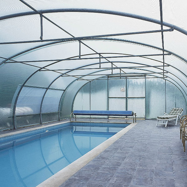 foliekas zwembad overkapping