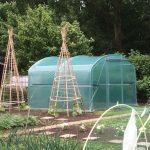 Het plaatsen van een tuinkas