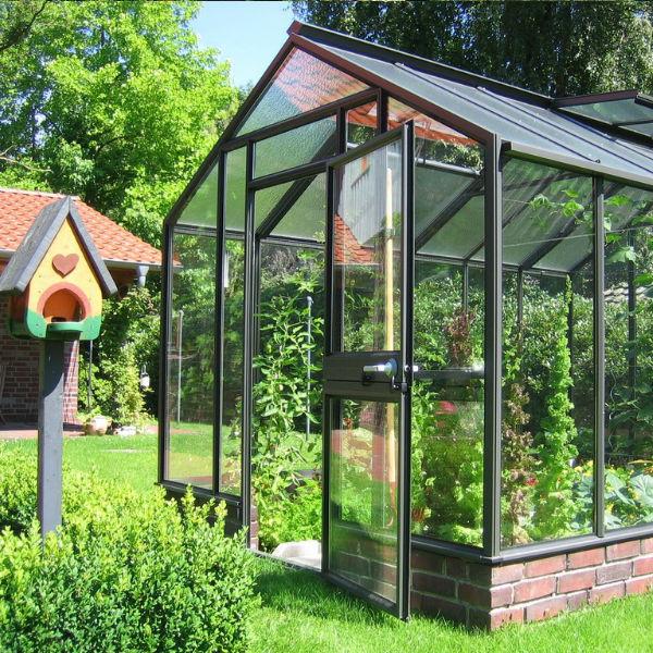 tuinkas geïsoleerd Biotop