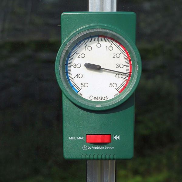 min-max thermometer tuinkas