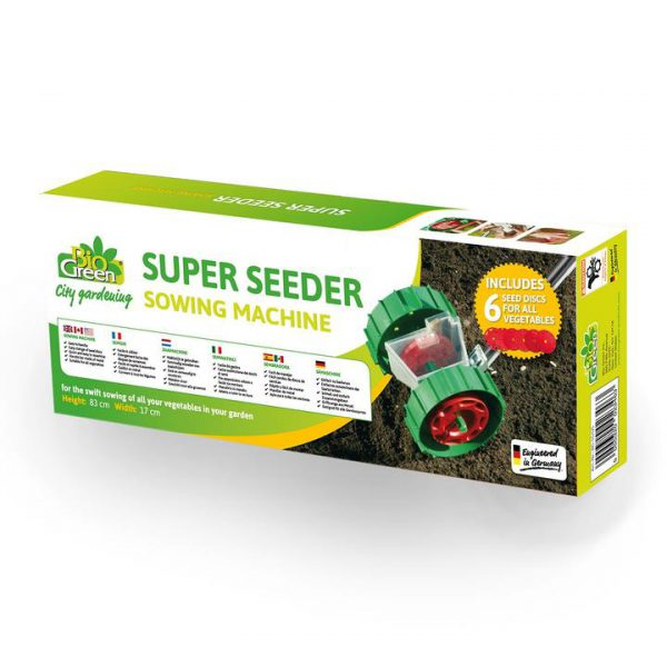 Super Seeder zaaimachine doos